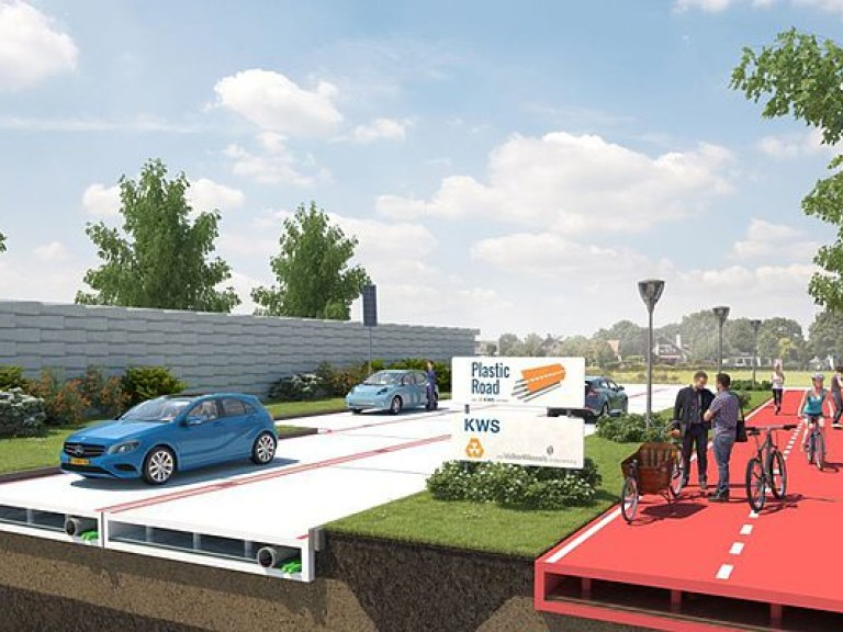 project on plastic road The plastic road project in the netherlands gives new life to plastic waste, while, at the same time, avoiding millions of tons of co 2 emitted.